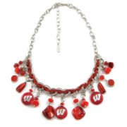 University of Wisconsin Charm Necklace