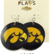 Iowa Hawkeye Earrings