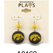 Iowa Hawks Earrings